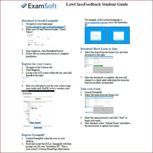 Student Setup Guide