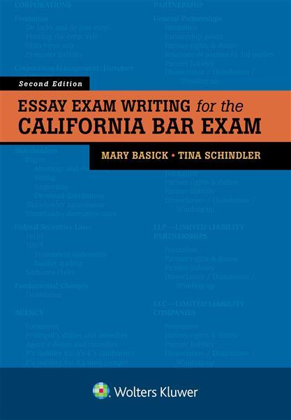 essay exam writing for the california bar exam second edition  essay exam writing for the california bar exam second edition