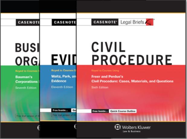Casenote Legal Series image