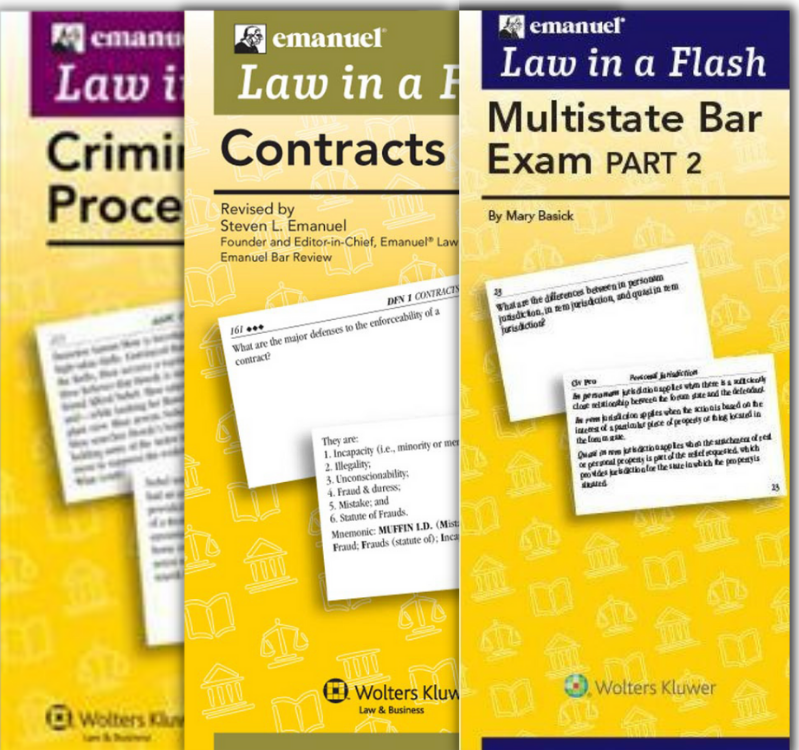 Law in a Flash series